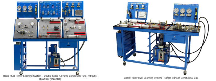 Basic Fluid Power Training System for Technical Learning
