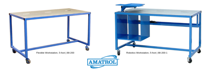 Mobile Flexible and Robotics Workstation for Technical Training