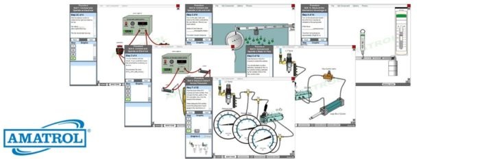 Interactive Multimedia Virtual Trainers for Hands-On Industrial Training and Learning