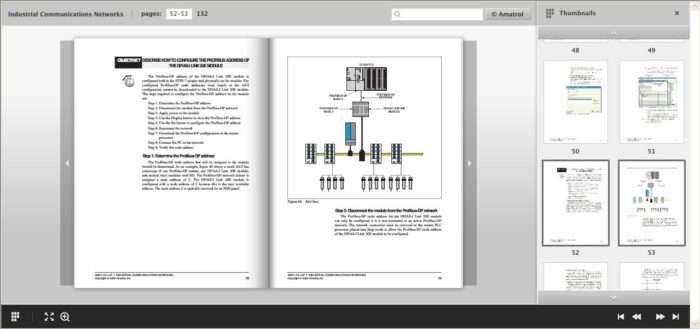 PLC ASI Bus eBook Courseware | Siemens S7315 PLCs | Amatrol