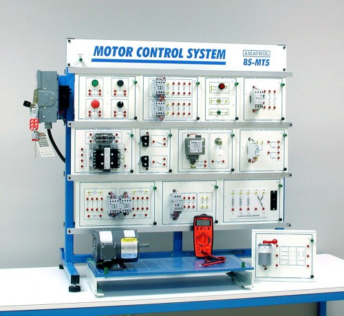 ac electric motor control systems training amatrol