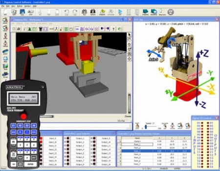 Pegasus Robotics Simulation Training | Programming and