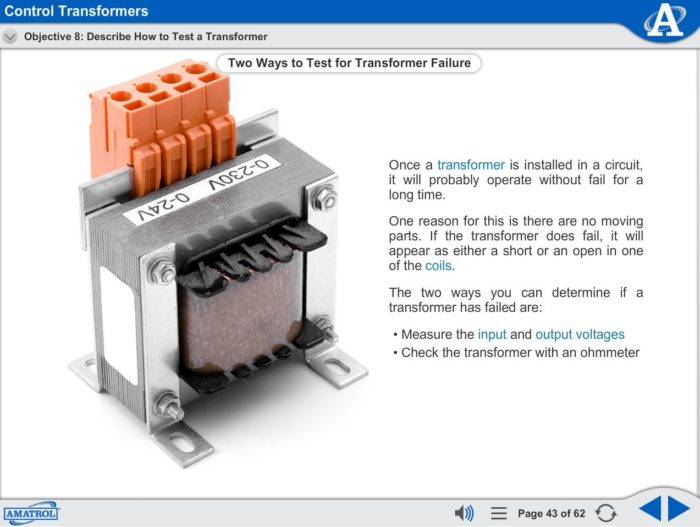 Virtual Trainer Courseware – Electrical Motor Control | N17401 | Amatrol