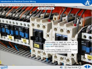 Electrical Wiring eLearning Course Multimedia Screen Capture - Introduction to Electrical Control Wiring