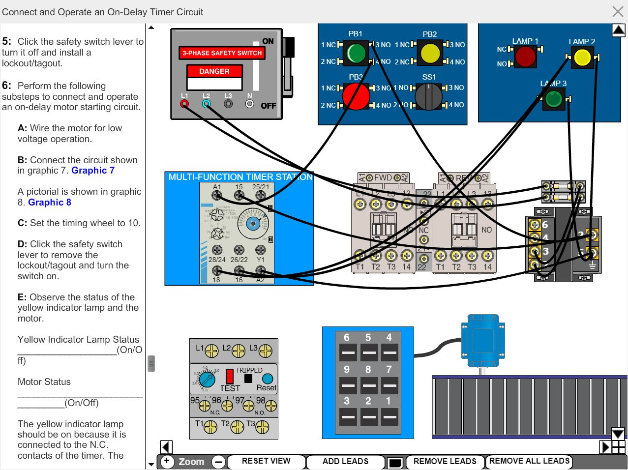 Electrical Motor Control eLearning Course Multimedia Screen ... on