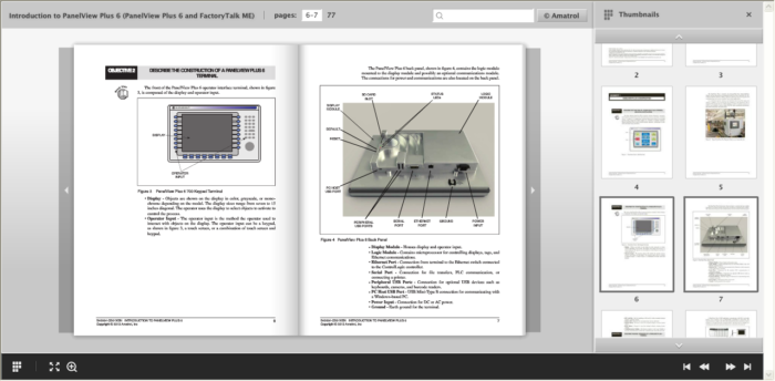 PanelView Plus eBook Course | ControlLogix PLC eLearning
