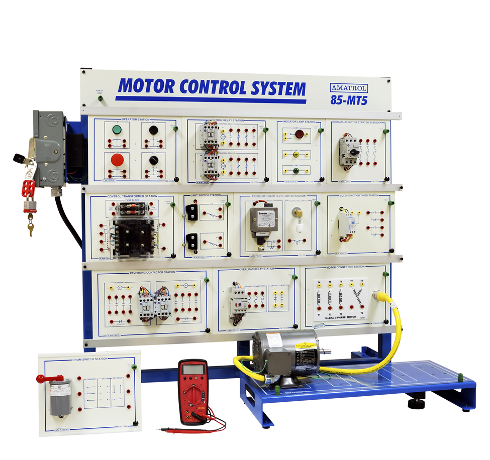 Electrical Motor Control Training Learning System