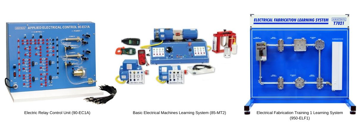 Electrical Machines, Relay Control, and Fabrication Learning System Technical Training