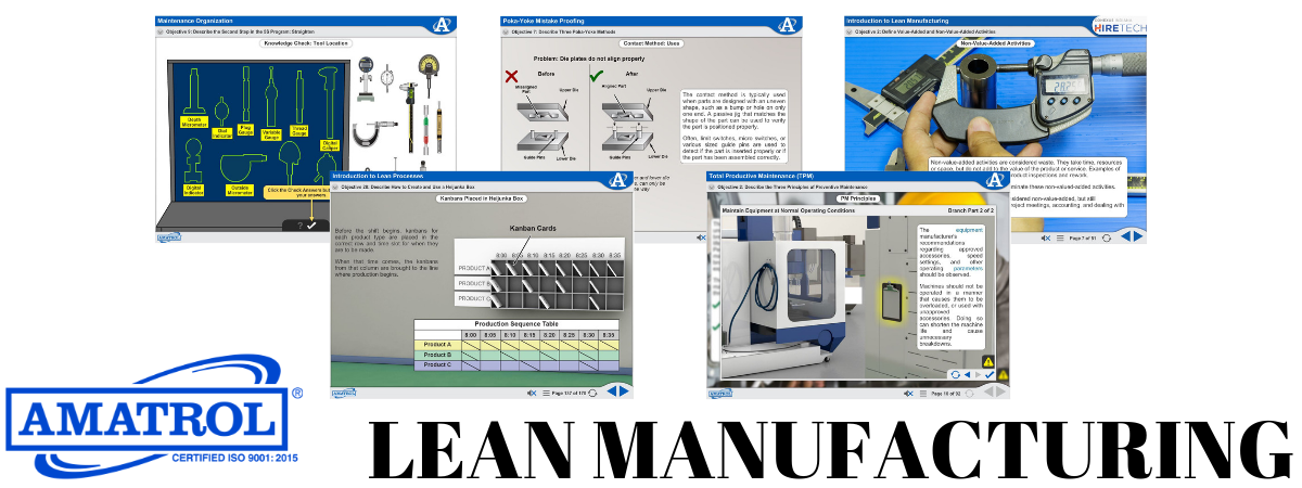 industrial lean manufacturing training