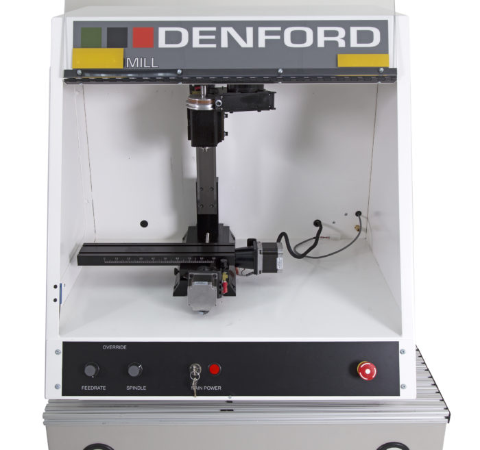 Industrial Machining Training CNC Machine Denford Technical Education