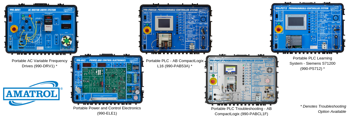 Portable Electronic Technical Training Learning Systems