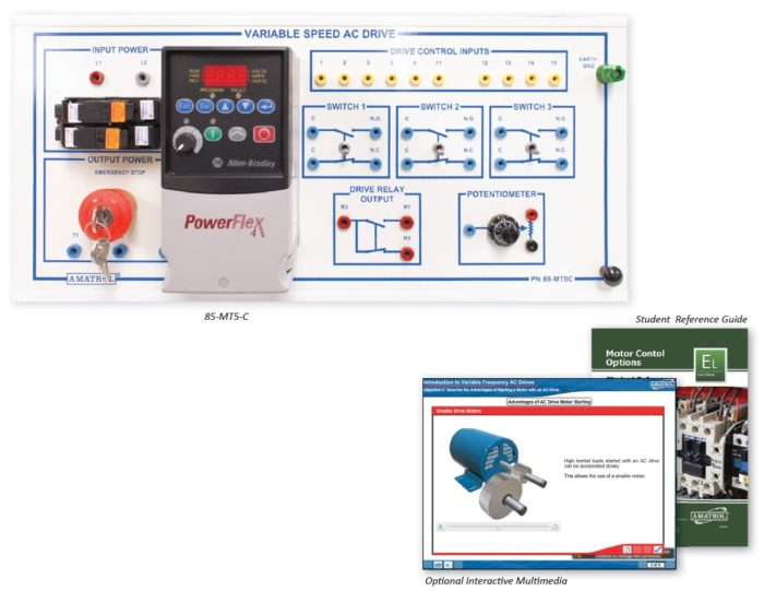 Variable Frequency Ac Drive Motor Control Training Amatrol