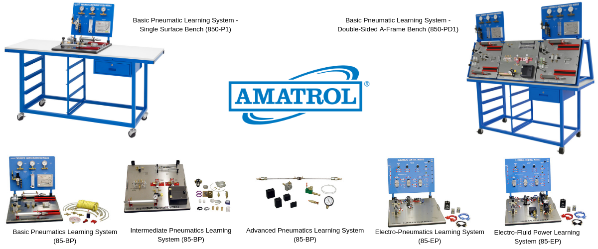 Pneumatic Technical Training Systems