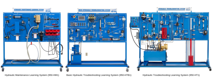 Hydraulic Maintenance and Troubleshooting Technical Training Learning System