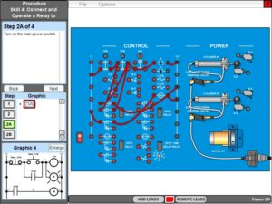 Virtual Electrical Relay Control Control Logic Online Training