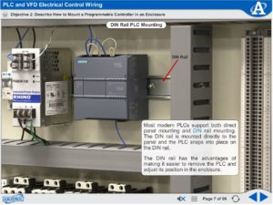 PLC and VFD ELectrical Control Wiring