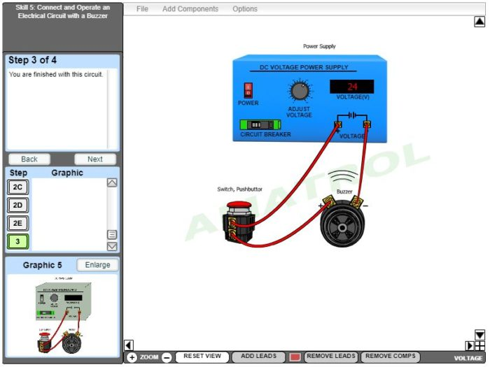 AC/DC Electrical eLearning Virtual Trainer
