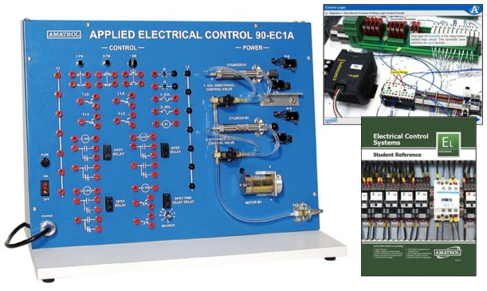hands on relay control skills ladder logic training amatrol rh amatrol com Automotive Electrical Relays Electrical Relay Diagram