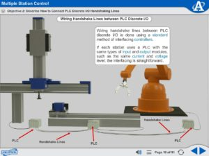 Mechatronics eLearning Course Multimedia Screen Capture - Multiple Station Control