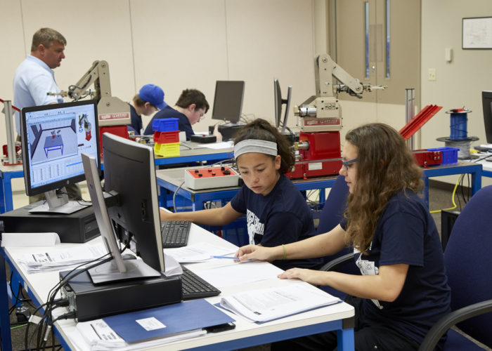 summer robotics camp for high school students