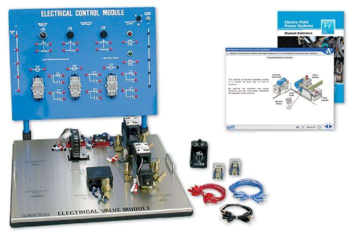 Electro-Hydraulics Training | Hands-On Electrical Relay Control ...