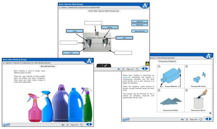Manufacturing Processes 3 eLearning | Injection Molding Operations