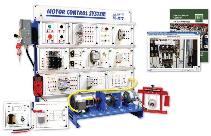 AC Electric Motor Control Systems Training | Amatrol on