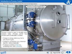 Portable Process Control eLearning Course Multimedia Screen Capture - Introduction to Process Control