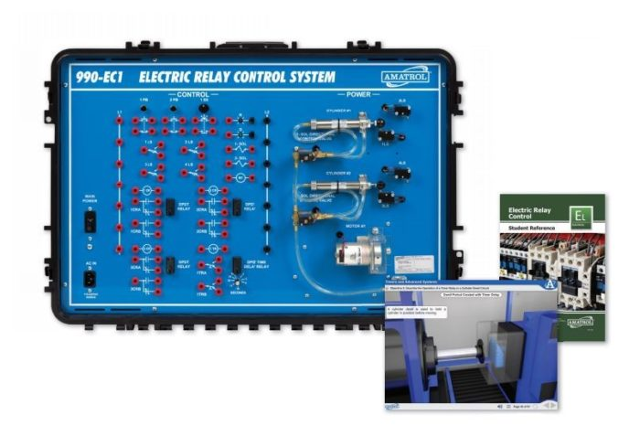 Swell Electric Relay Control Circuit Training Hands On Relay Control Wiring Digital Resources Indicompassionincorg