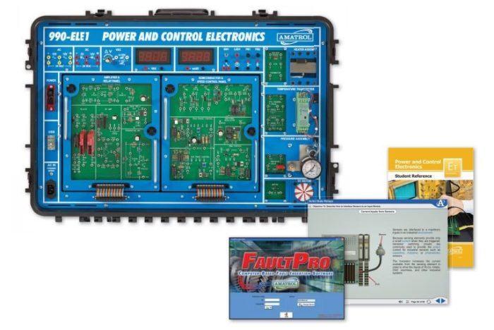 training for electronic components, circuits \u0026 machine applications