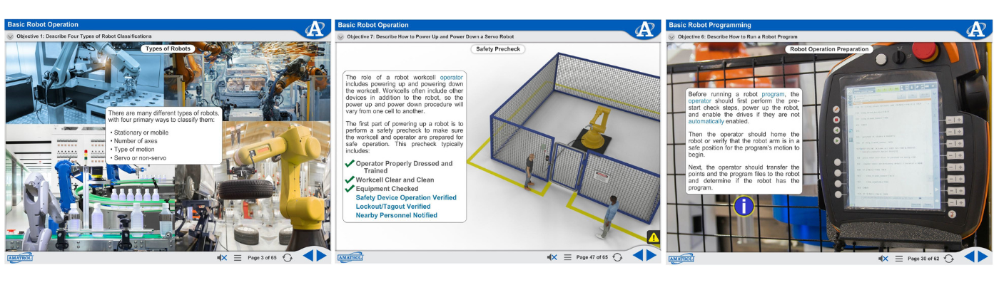 Smart Factory Robotics eLearning