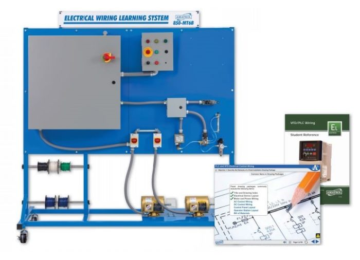 vfd wiring and plc wiring electrical wiring training amatrol