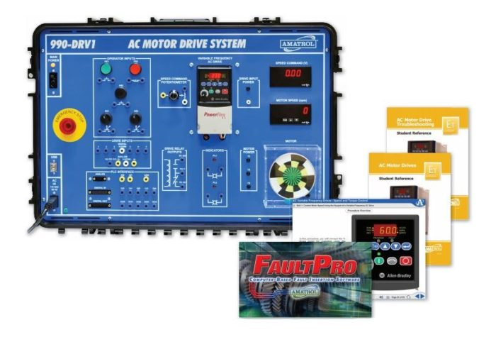 Portable AC Variable Frequency Drives Troubleshooting Skills