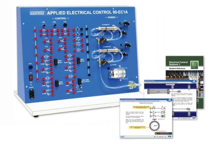 Magnificent Electric Relay Control 1 Learning System 96 Ecs1 Amatrol Wiring 101 Photwellnesstrialsorg