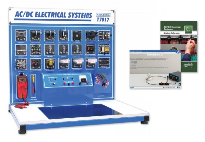 Remarkable Ac Dc Electrical Training System Basic Electrical Troubleshooting Wiring Digital Resources Otenewoestevosnl