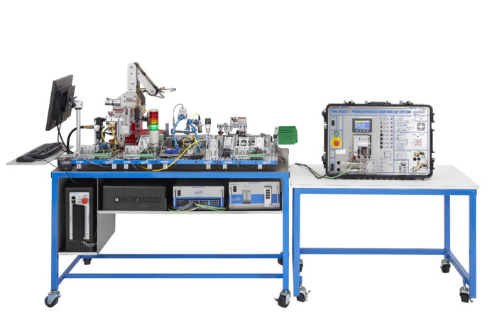 Photo of Amatrol's Tabletop Smart Factory system