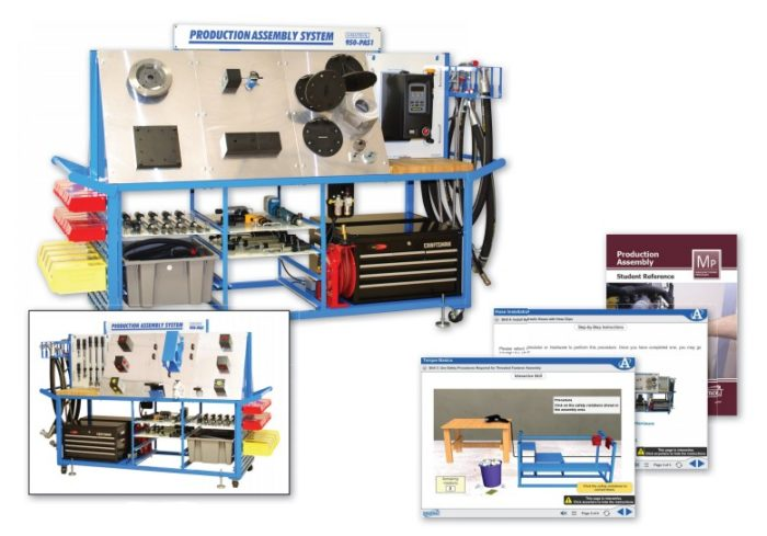 Production Assembly Learning System | 950-PAS1 | Amatrol