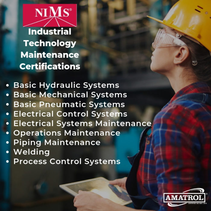 Amatrol NIMS ITM Certifications Graphic