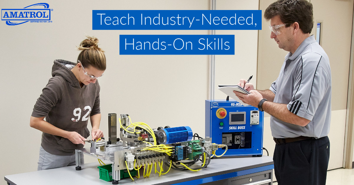 teach industry-relevant, hands-on skills