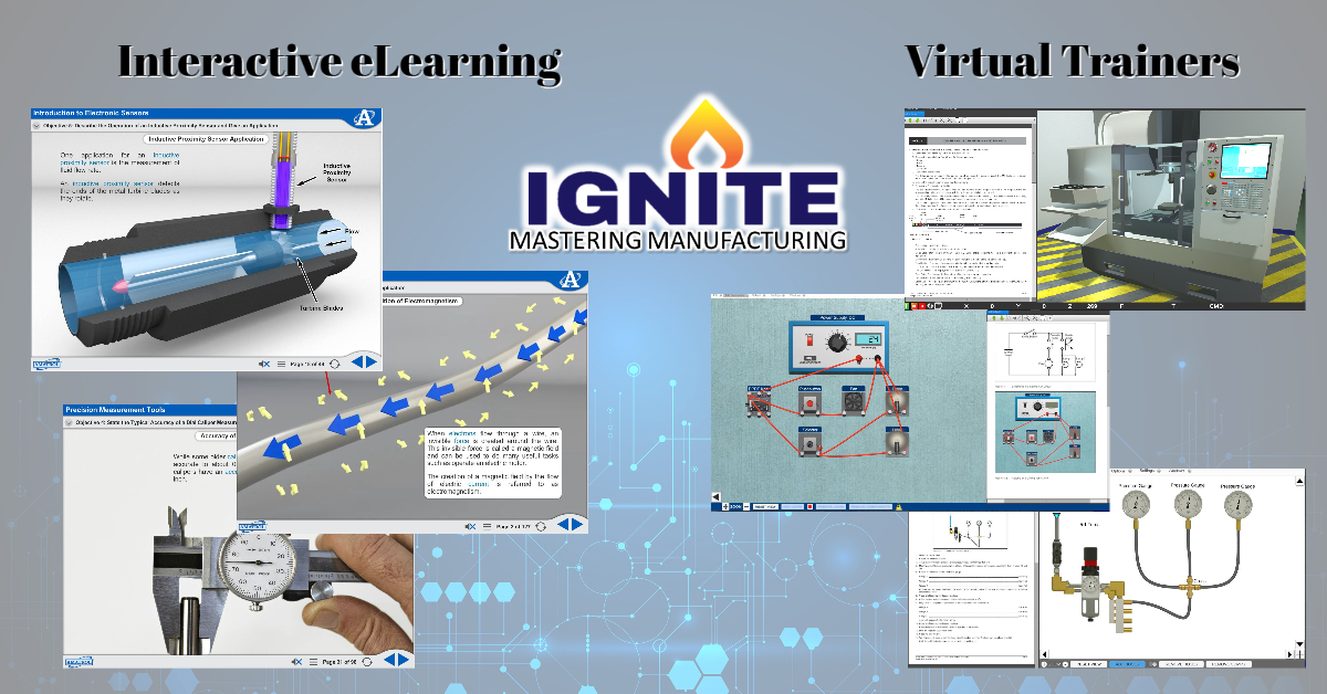 Ignite: Mastering Manufacturing eLearning virtual trainers