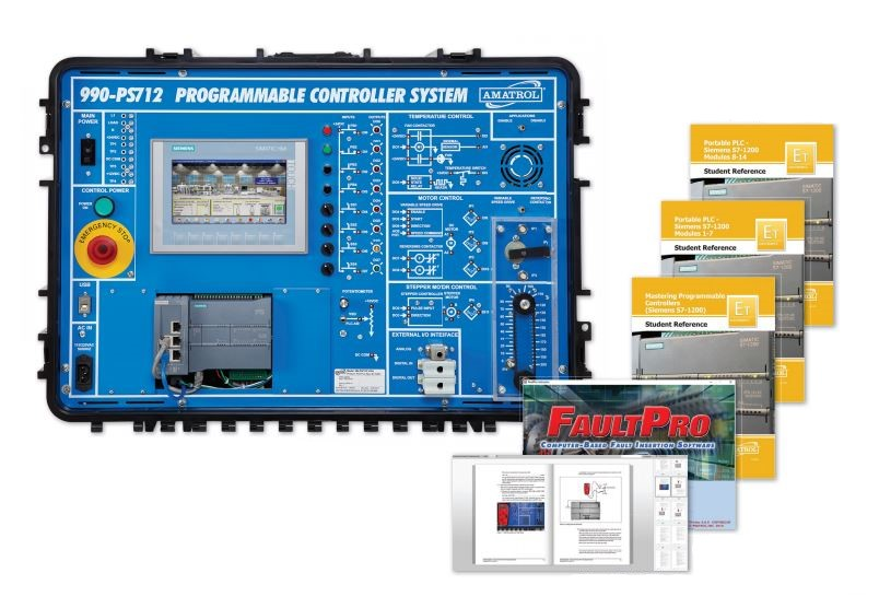 Portable PLC Troubleshooting Training   Siemens S71200   Hands-On