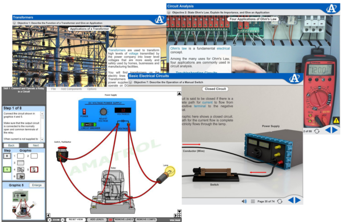 Enjoyable Virtual Trainer Courseware Ac Dc Electrical Nb227 Amatrol Wiring Cloud Hisonuggs Outletorg