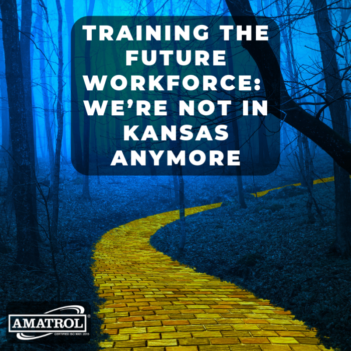 Training the Future Workforce: We're Not in Kansas Anymore InfoGraphic