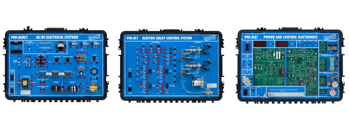 Aviation Maintenance Training Portable Learning Systems