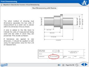 Print Dimensioning eLearning