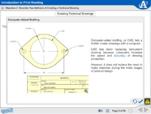 Print Reading eLearning | Print Dimensioning, Assembly