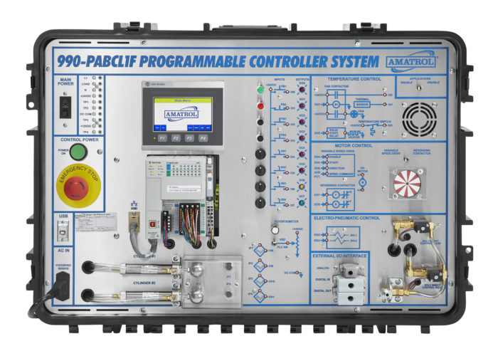 Tabletop Smart Factory Performance Analysis & PLC Training