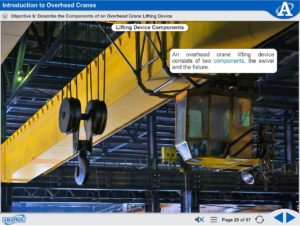 Overhead Crane Safety eLearning | Workplace Safety Training | Amatrol