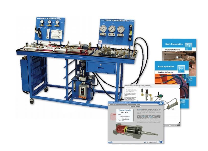 Basic Fluid Power Learning System – Single Surface Bench
