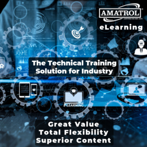 Amatrol eLearning: The Technical Training Solution for Industry Infographic